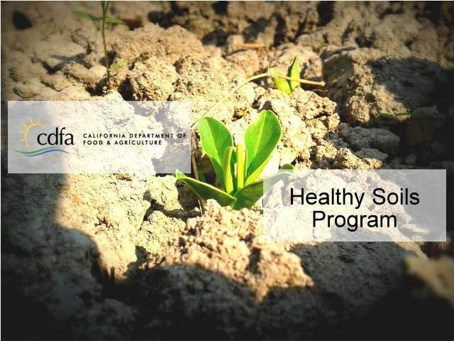 Healthy Soils Program California