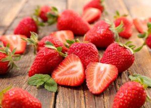 Nitrogen in Strawberries