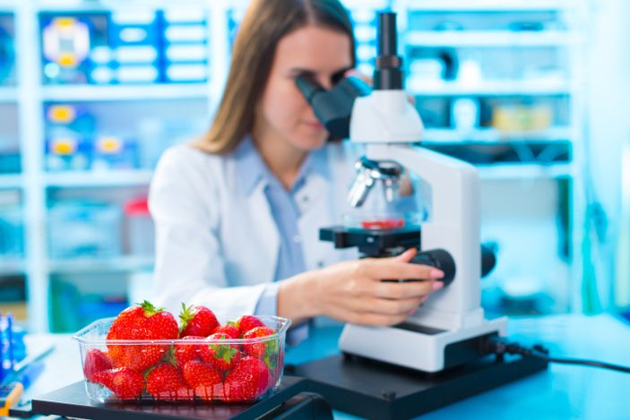 high technology for agricultural fertility analysis